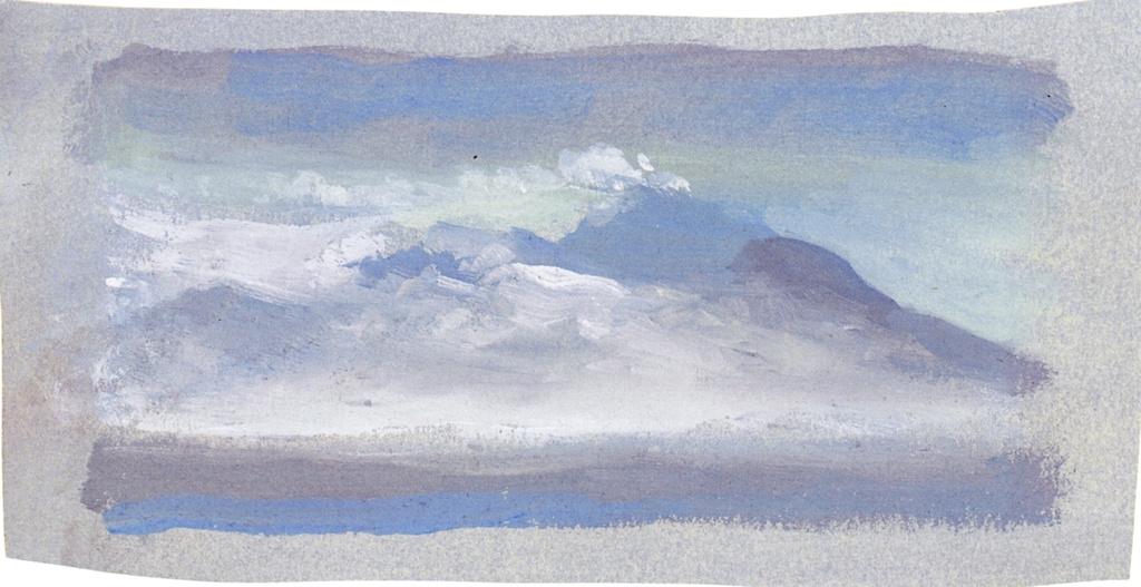 George Frederick Watts. Vesuvius