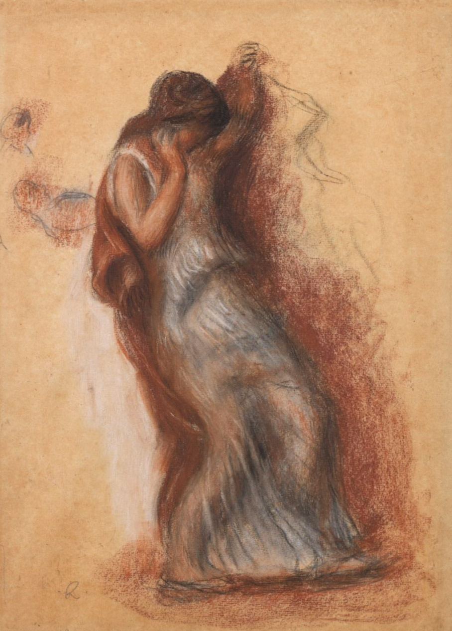 Pierre-Auguste Renoir. Dancing Jocasta