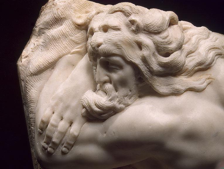 Баччо Бандинелли. Спящий Геракл (фрагмент)