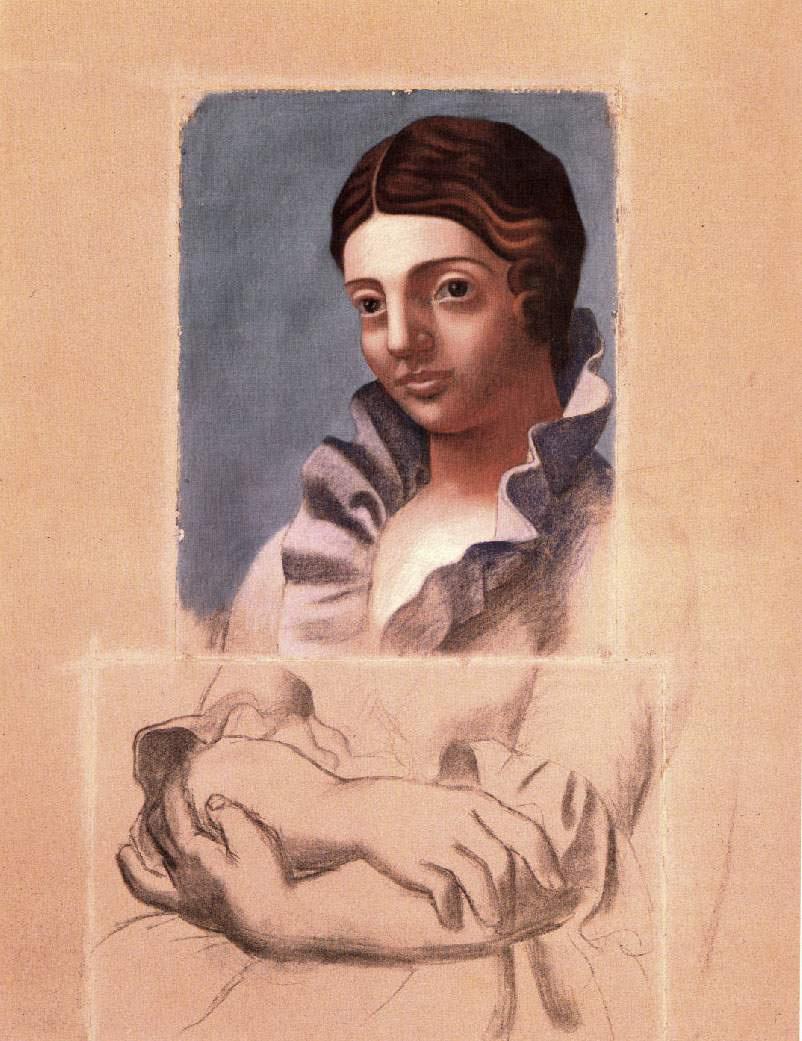 Пабло Пикассо. Портрет Ольги