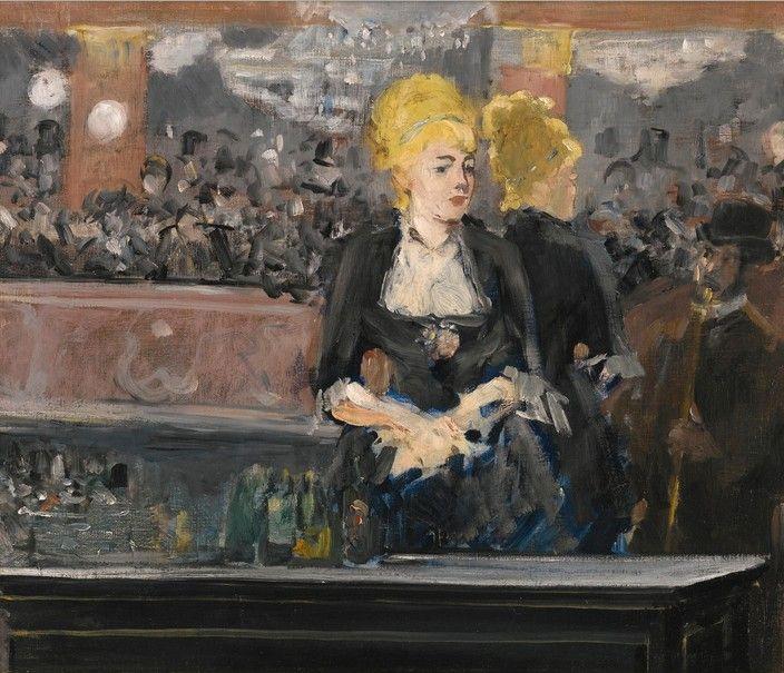 "Edouard Manet. Bar ""Folies-Bergere"" (the first option)"