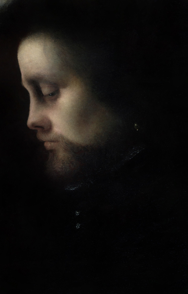 Ольга Акаси. Portrait of  Machiavelli