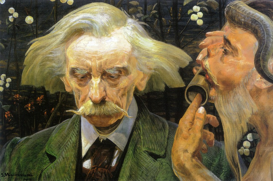 Jacek Malchevsky. Unknown sketch of a portrait of Stanislav Bryni
