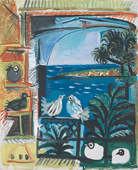 Пабло Пикассо. Голуби 8