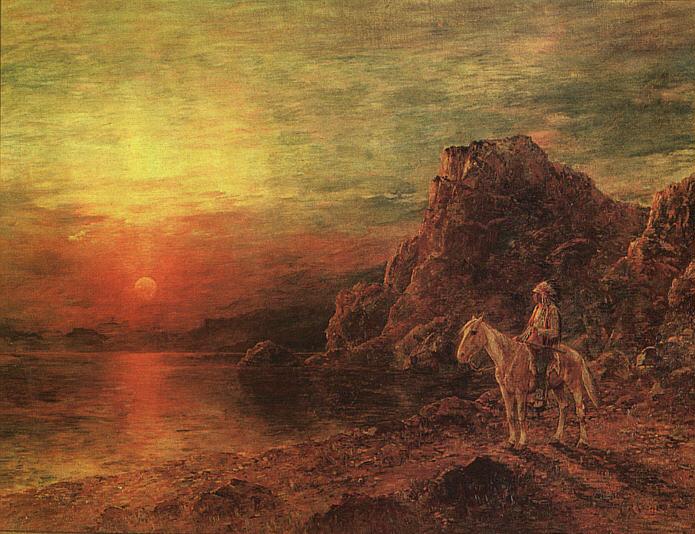Генри Расчен. Неповторимый закат
