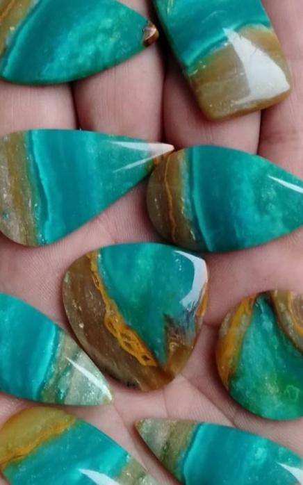 Opal blue / blank