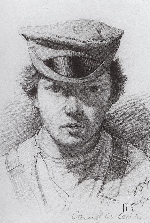 Ivan Shishkin. Self-portrait