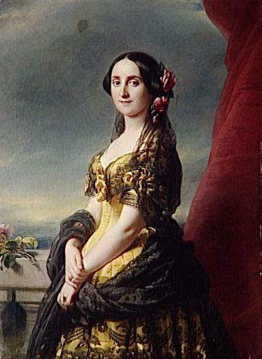 Франц Ксавер Винтерхальтер. Мария дель Консуэло, кондесса де Грамедо