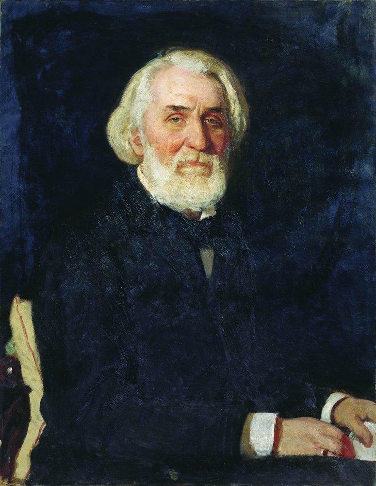 Ilya Efimovich Repin. Portrait Of I. S. Turgenev
