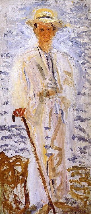 "Richard Gerstl. ""Portrait Zelinskogo"""