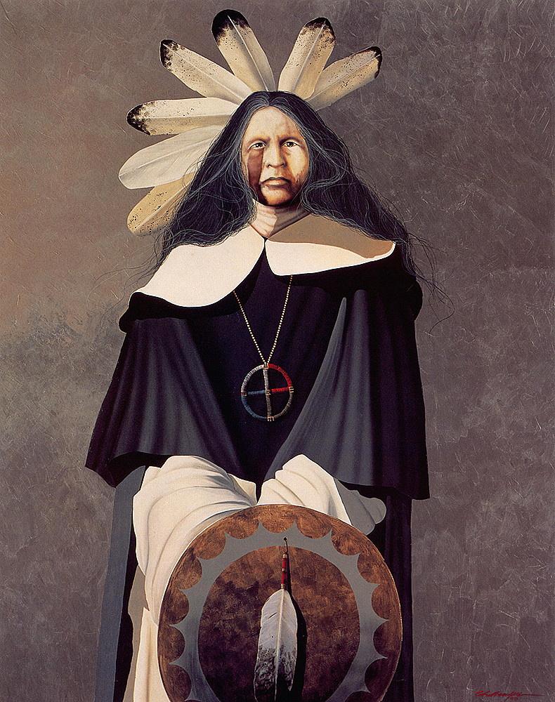 John Challenger. The white shaman medicine