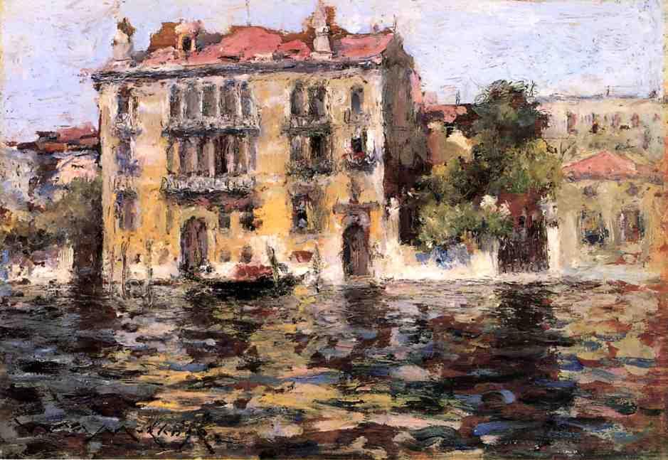 William Merritt Chase. After the rain. Venice
