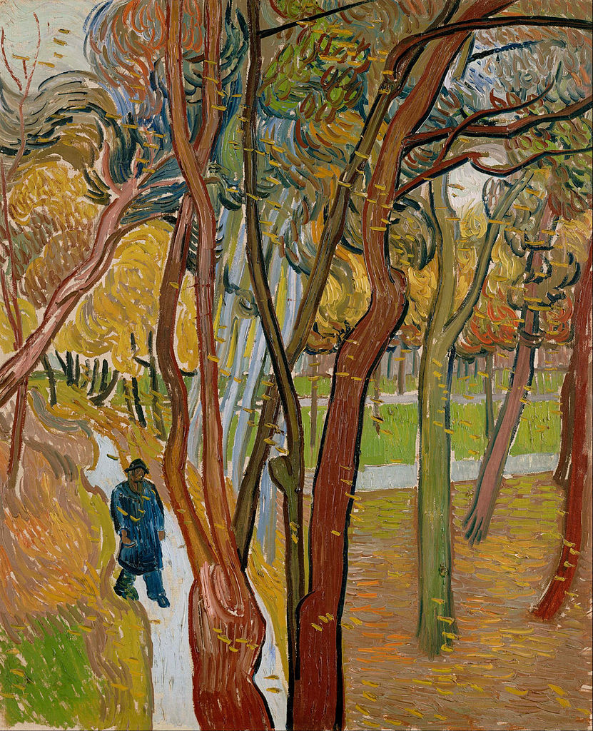 Vincent van Gogh. Walk: falling leaves