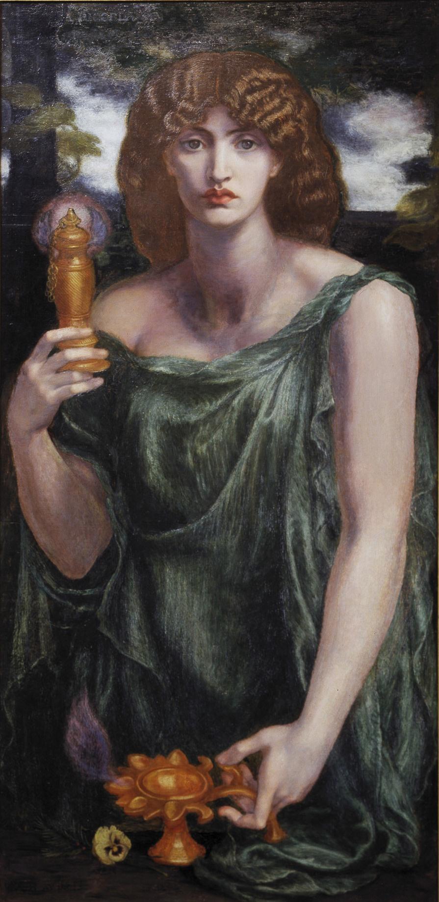 Dante Gabriel Rossetti. Mnemosyne