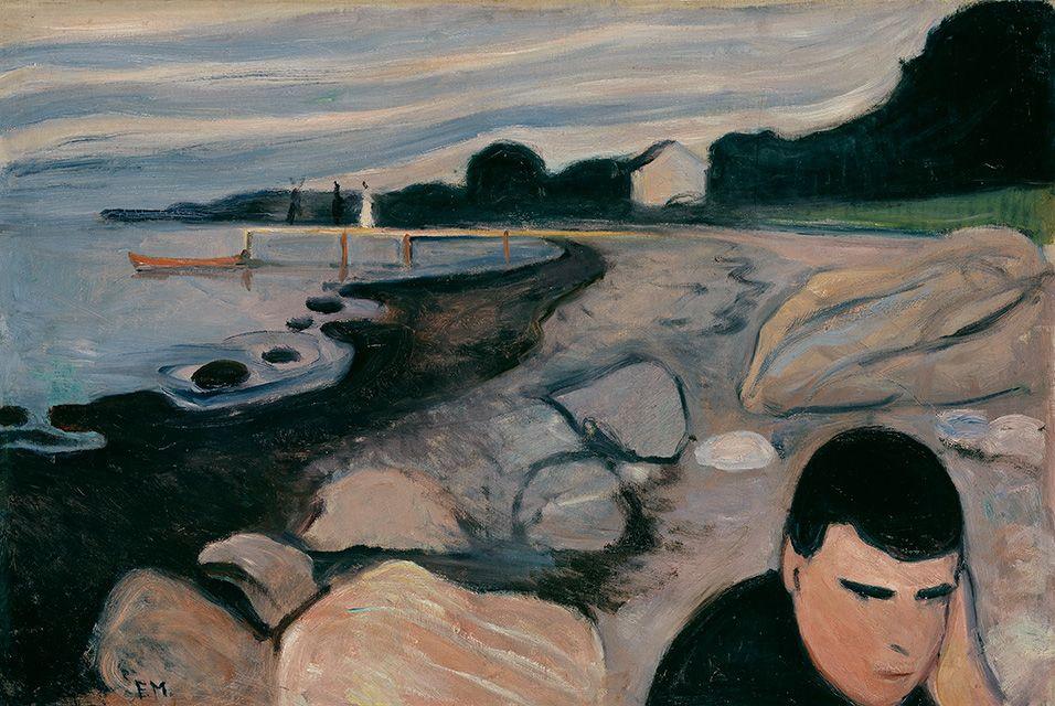 Некоторые другие картины Эдварда Мунка, хранящиеся вНациональном музее Норвегии