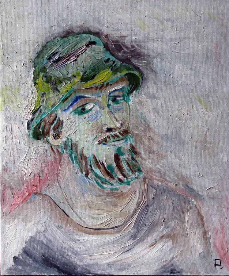 Svyatoslav Ryabkin. Self-portrait