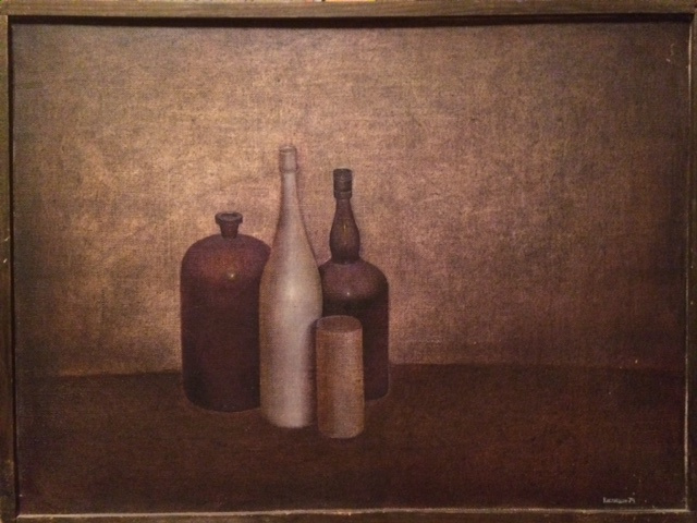 Igor Vasilyevich Kislitsyn. Still life with a white bottle