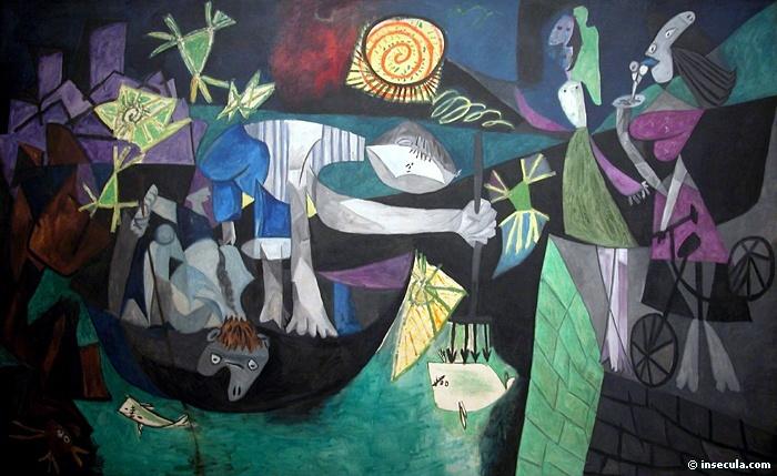 Пабло Пикассо. Ночная рыбалка на Антибах