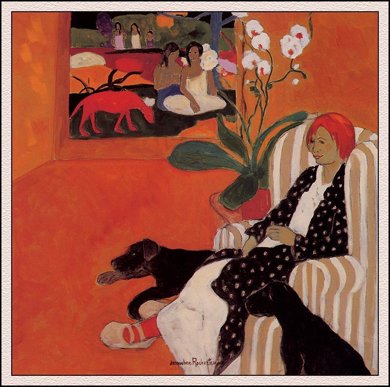 Jacqueline Rochester. After Gauguin