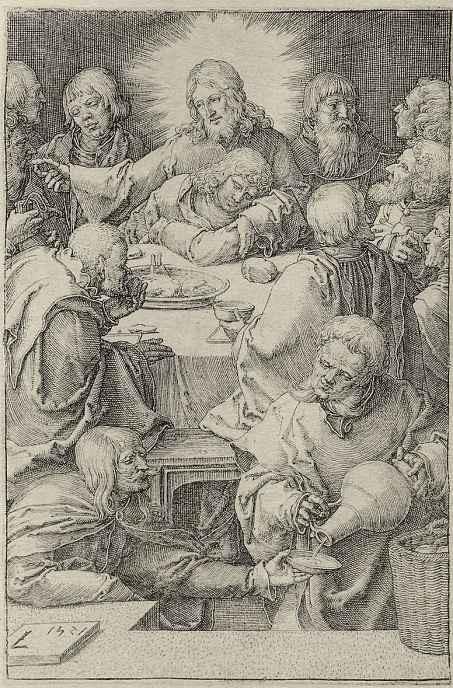 Лукас ван Лейден (Лука Лейденский). Страсти Христа