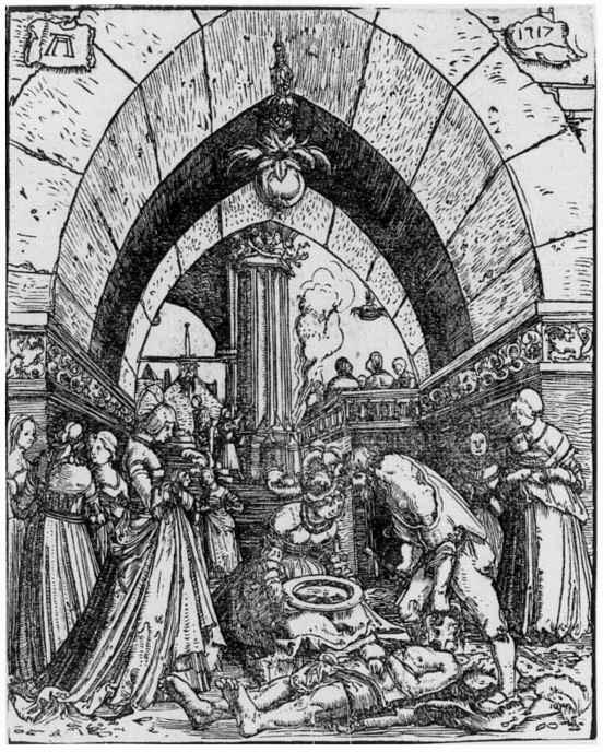 Альбрехт Альтдорфер. Усекновение главы Иоанна Крестителя