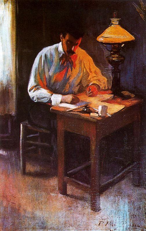 Ю. Пуджиес. Портрет Хосепа Кардоны