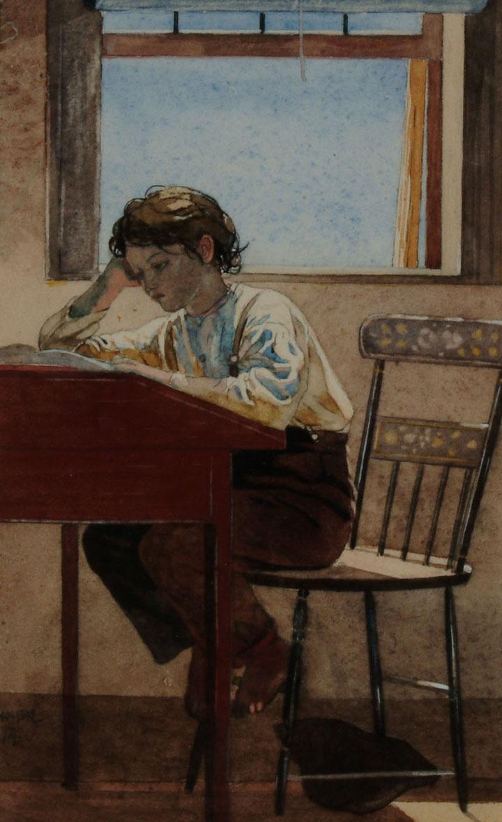 Winslow Homer. Homework
