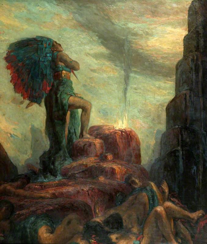 Charles Ricketts. Montezuma