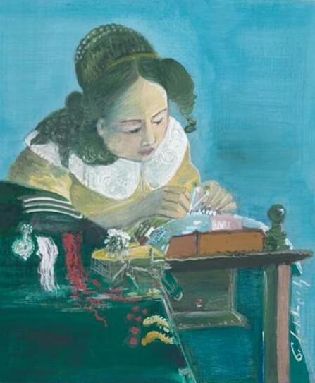 Nato Sirbiladze. Embroiderer