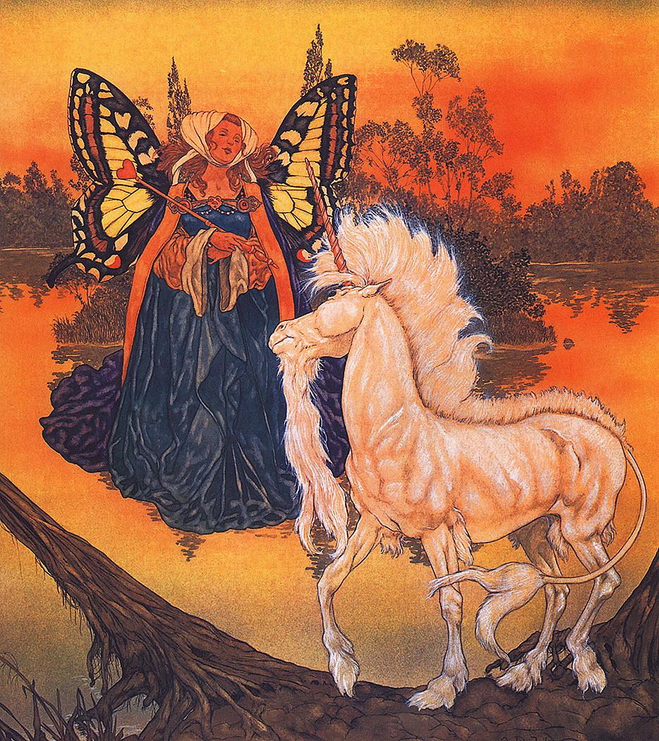 Michael haig. Bright unicorn