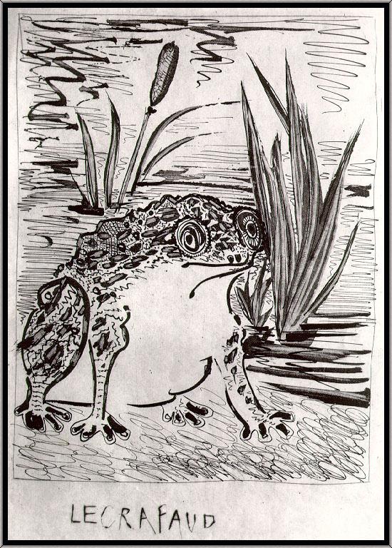 Пабло Пикассо. Жаба