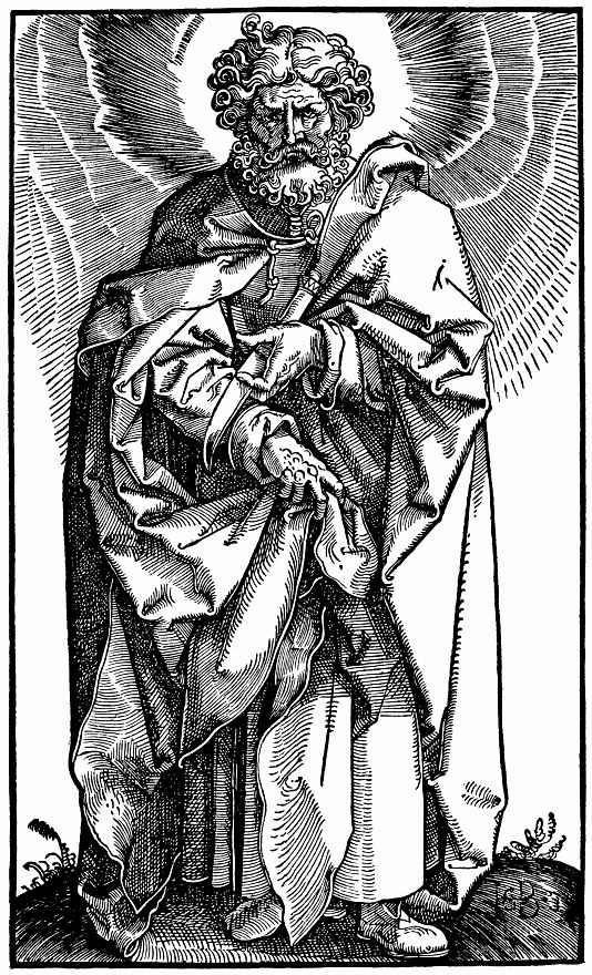 Ханс Бальдунг. Святой Варфоломей