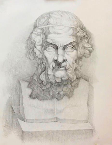 Larissa Lukaneva. Homer's Head