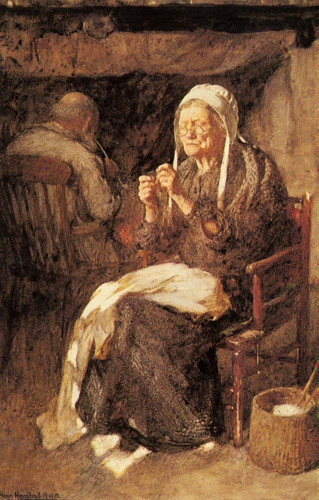 John Henry Henshall. Threading the needle