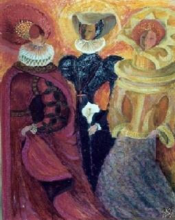 Natalia Nikolaevna Guller. Three Graces