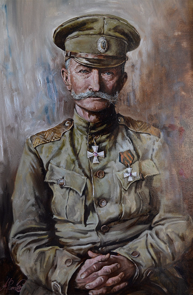 """Andrey Romasyukov. General Brusilov. Series """"From the Great War to the Great Troubles"""""""