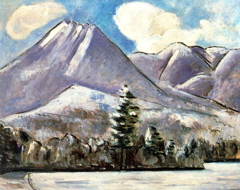Марсден Хартли. Горы