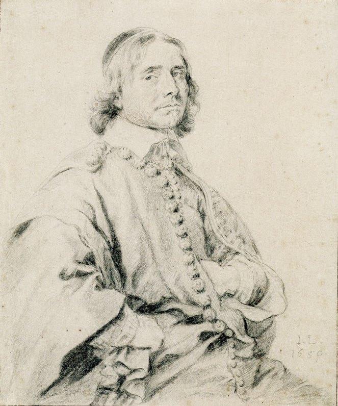 Ян Ливенс. Портрет Йоханнеса Уотенбогайта