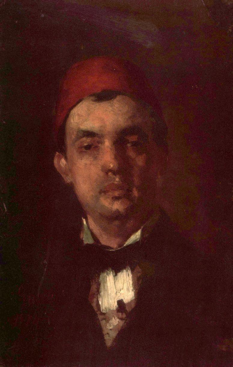 Nicolae Grigorescu. Portrait of Dr. D. Grigorescu