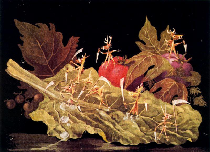 Ремедиос Варо. Овощи