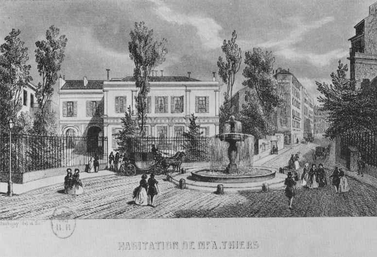 Шарль-Франсуа Добиньи. Дом Тьера