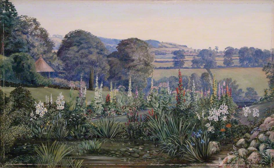 Marianna North. Landscape in Alderley