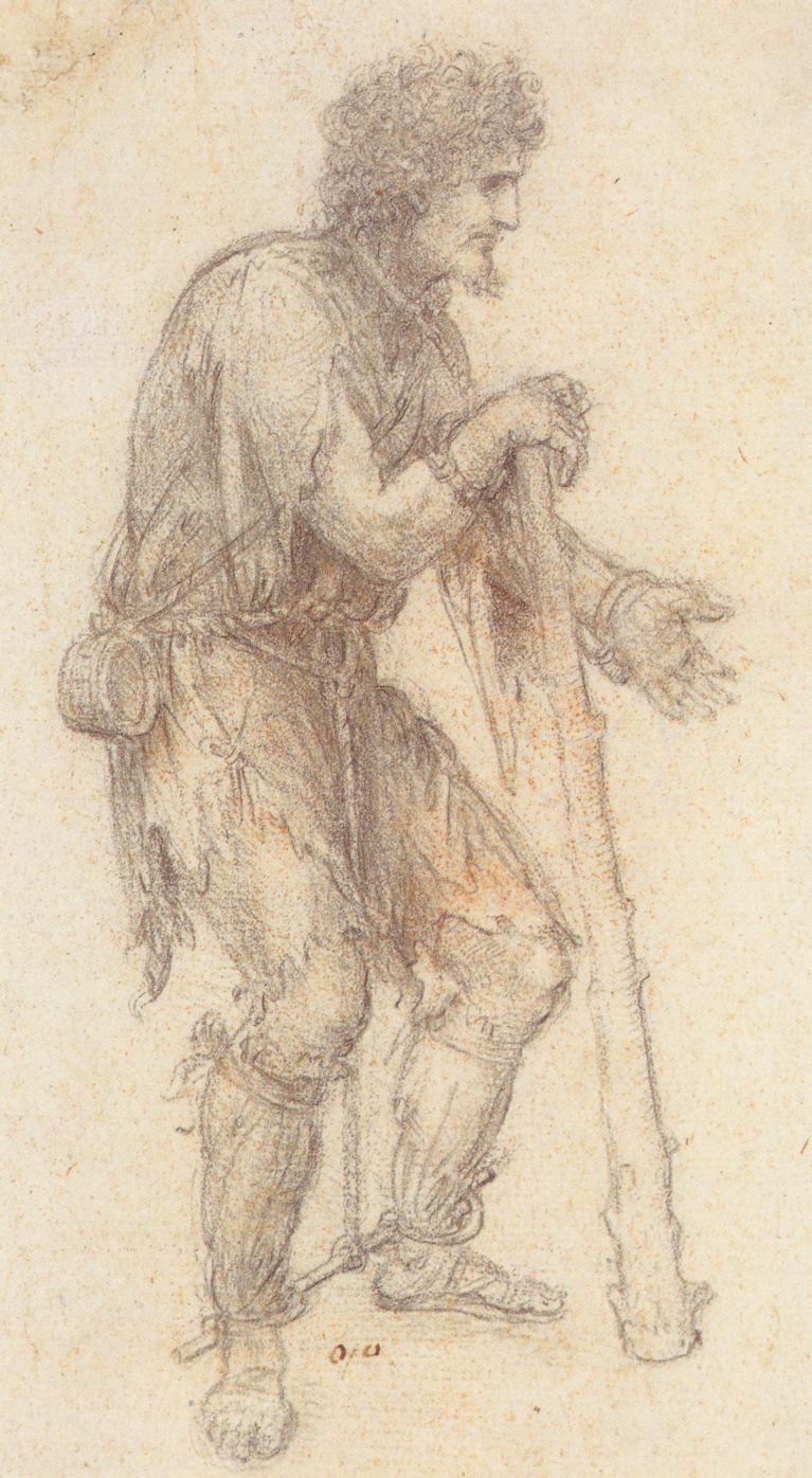 Leonardo da Vinci. Disguised in the image of the prisoner