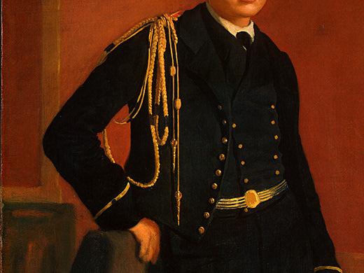 Эдгар Дега. Акилле Де Газа в мундире кадета (фрагмент)