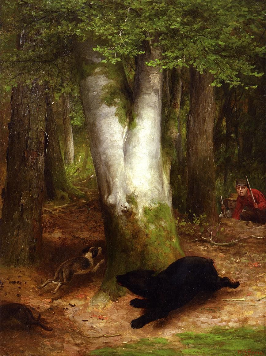 William Holbrook Byrd. In a circle they went