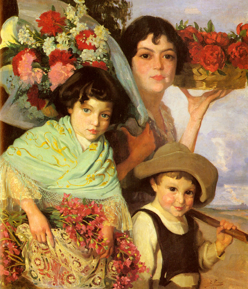 Комас Эдуард Феррер. Собирая цветы