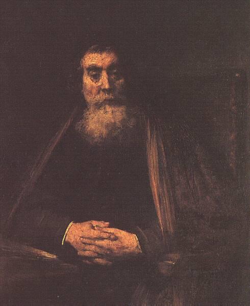 Рембрандт Ван Рейн. Старик