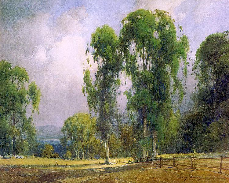 Генри Перси Грей. Зеленые деревья