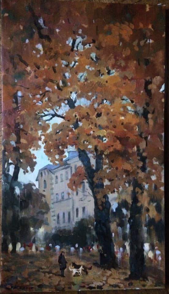"Elizabeth Sokolova. ""Autumn Meetings"""