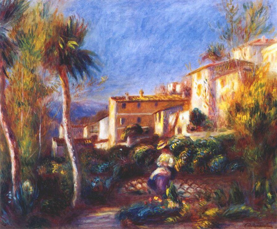Pierre-Auguste Renoir. Villa in Caen